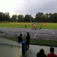 Photo taken at Stadium Mini Shah Alam by Paal F. on 1/11/2016