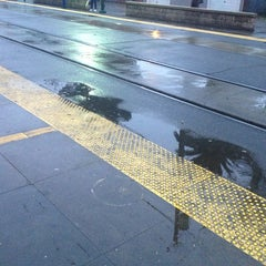 Photo taken at SACRT Light Rail 16th St Station by Larry C. on 1/24/2013