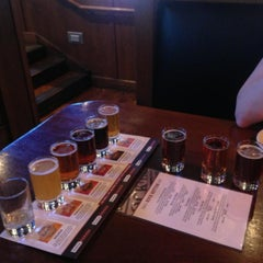 Photo taken at Rock Bottom Brewery by Josh M. on 4/22/2013