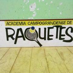 Photo taken at Academia Campograndense de Raquetes by Leo B. on 2/16/2013