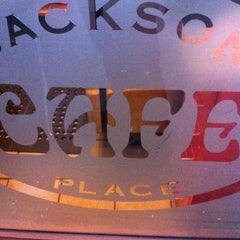 Photo taken at Jackson Place Cafe by George K. on 11/2/2012