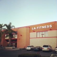 Photo taken at LA Fitness by Nick T. on 11/5/2012