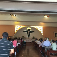 Photo taken at Parroquia Sta. María Madre de la Misericordia by Laura Patricia A. on 4/17/2016