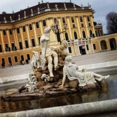 Photo taken at Schloss Schönbrunn by Mario G. on 2/4/2013