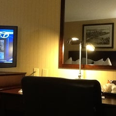 Photo taken at Wyndham Garden Hotel by Catarina V. on 10/31/2012