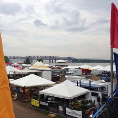 Photo taken at World Championship BBQ Cooking Contest  - Memphis In May by Mike O. on 5/16/2013