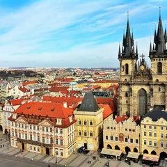 Photo taken at Staroměstské náměstí | Old Town Square by Roman M. on 3/2/2013