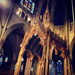 Photo taken at St. Patrick's Cathedral by Ryan P. on 4/21/2013