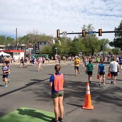 Photo taken at Bolder Boulder 10K Race by Heather B. on 5/27/2013