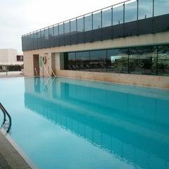 Photo taken at Thalasia Hotel & Thalasso Center by Javier H. on 3/29/2013