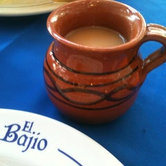 Photo taken at El Bajío by Os A. on 1/19/2013