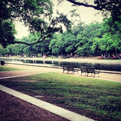 Photo taken at Hermann Park by Ray V. on 7/4/2013