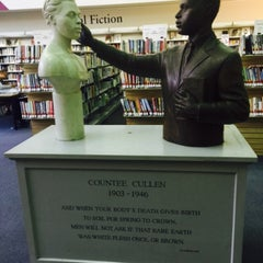 Photo taken at New York Public Library - Countee Cullen by msdarling on 9/24/2015