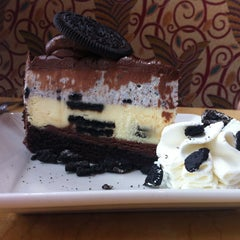 Photo taken at The Cheesecake Factory by Emma T. on 10/18/2012
