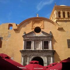 Photo taken at Plaza Santo Domingo by Gustavo Adolfo G. on 12/2/2012