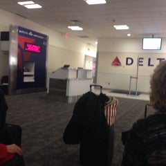 Photo taken at Gate A3 by Gerardo S. on 2/2/2014