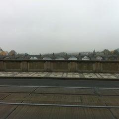 Photo taken at Mánesův most by Alex on 10/21/2012