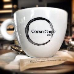 Photo taken at Corso Como Cafe by Chris D. on 4/19/2013