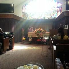 Photo taken at Mountain View Cemetery by Loren E. on 11/2/2013