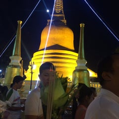 Photo taken at วัดพุทธมงคลนิมิตร (Wat Buddhamongkolnimit) by Nan D. on 2/22/2016