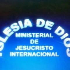 Photo taken at Iglesia Ministerial de Jesucristo Internacional by karime s. on 9/17/2012