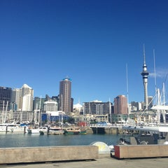 Photo taken at Wynyard Quarter by Ania S. on 4/9/2013