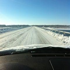 Photo taken at Mile Long Bridge by Mike V. on 12/21/2012