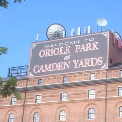Photo taken at Oriole Park at Camden Yards by Jennifer L. on 6/29/2013