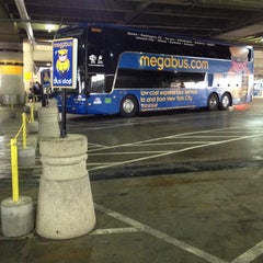 Photo taken at Megabus Stop - Washington, DC by Pablo Mishel M. on 9/27/2013