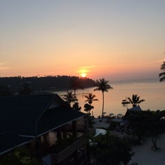 Photo taken at Haadlad Prestige Resort And Spa Koh Phangan by Alexey K. on 1/9/2014