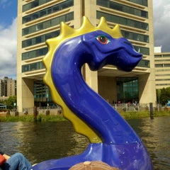 Photo taken at Inner Harbor Paddle Boat Dock by Kimberly C. on 9/29/2012