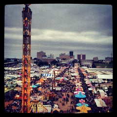 Photo taken at Mississippi State Fairgrounds by Caitlin H. on 10/7/2012