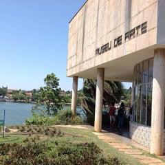 Photo taken at Museu de Arte da Pampulha by Lucas B. on 10/4/2012
