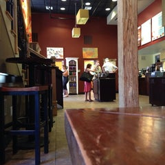 Photo taken at Saxbys Coffee by Esther F. on 8/24/2013