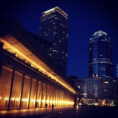 Photo taken at Christian Science Plaza by Quan X. on 1/8/2013