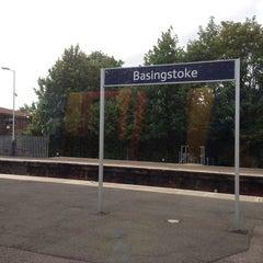 Photo taken at Basingstoke Railway Station (BSK) by Enrica P. on 6/22/2013