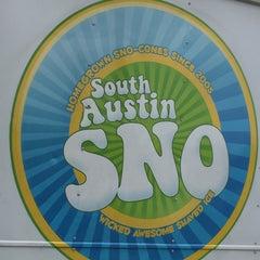 Photo taken at South Austin Sno by Jess M. on 4/26/2016