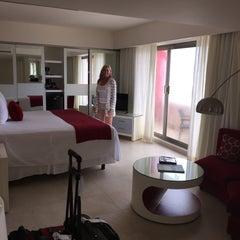 Photo taken at Temptation Resort & Spa Cancun by Dana K. on 9/26/2015
