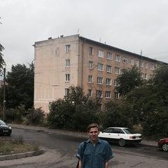 Photo taken at ул. Александра Суворова by Тимофей З. on 6/23/2015