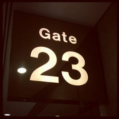 Photo taken at Gate 22 by P. F. on 10/16/2012