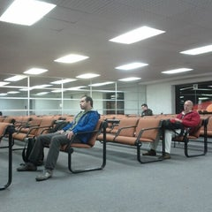 Photo taken at Gate 9 - Aeropuerto El Dorado by Mirta A. on 9/25/2012
