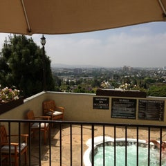 Photo taken at Le Montrose Rooftop Pool by Alyona T. on 5/10/2013