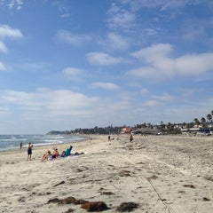 Photo taken at Cardiff State Beach by Kevin V. on 8/19/2013