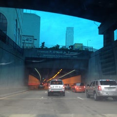 Photo taken at Thomas P. O'Neill Jr. Tunnel by Kevin V. on 6/6/2013