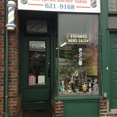 Photo taken at Stefano's European Barber by Kevin V. on 1/12/2013