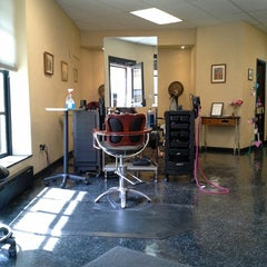 Photo taken at Fringe Salon by Danielle R. on 4/7/2013