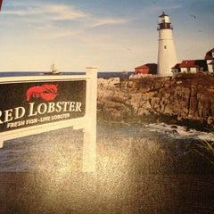 Photo taken at Red Lobster by Brian O. on 8/10/2013