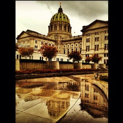 Photo taken at Pennsylvania State Capitol Building by Brian O. on 10/18/2012
