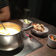 Photo taken at The Melting Pot by Lynn W. on 1/30/2013