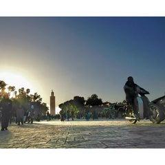 Photo taken at Place Jemaa el-Fna | ساحة جامع الفناء by Gaetano T. on 12/29/2012